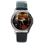 Joan of Arc Fantasy Round Metal Watch