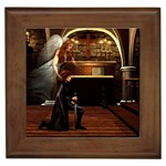 Joan of Arc Fantasy Framed Tile