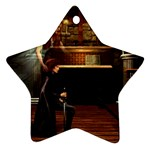 Joan of Arc Fantasy Ornament (Star)