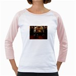 Joan of Arc Fantasy Girly Raglan