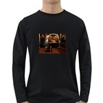 Joan of Arc Fantasy Long Sleeve Dark T-Shirt