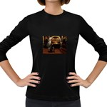 Joan of Arc Fantasy Women s Long Sleeve Dark T-Shirt