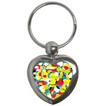 Interlocking Circles Key Chain (Heart)