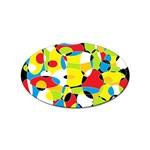 Interlocking Circles Sticker 10 Pack (Oval)
