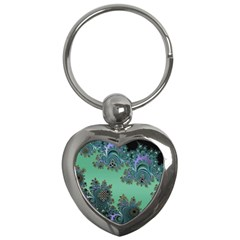 Celtic Symbolic Fractal Key Chain (heart) by UROCKtheWorldDesign