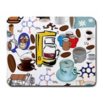 Just Bring Me Coffee Small Mouse Pad (Rectangle)