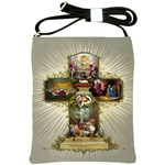 Easter Cross Shoulder Sling Bag