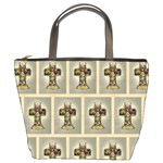 Easter Cross Bucket Bag