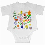 Summer Florals Infant Bodysuit