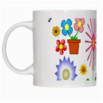 Summer Florals White Coffee Mug