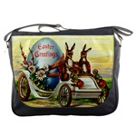 Victorian Easter Ephemera Messenger Bag