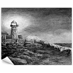 Frank Clark Lighthouse -AveHurley ArtRevu.com- Canvas 11  x 14