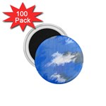 Abstract Clouds 1.75  Button Magnet (100 pack)