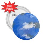 Abstract Clouds 2.25  Button (100 pack)
