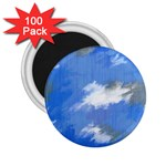 Abstract Clouds 2.25  Button Magnet (100 pack)