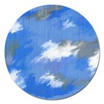 Abstract Clouds Magnet 5  (Round)