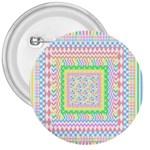 Layered Pastels 3  Button