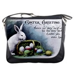 Victorian Easter  Messenger Bag