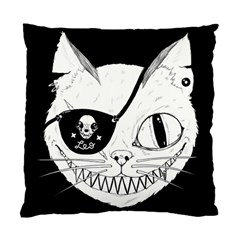 Cat Pirate s Life For Me Cushion Case (single Sided)  by Contest1879409