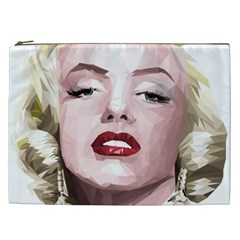 Marilyn Cosmetic Bag (xxl) by malobishop