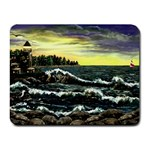 Cosgriff Point Lighthouse -AveHurley ArtRevu.com- Small Mousepad