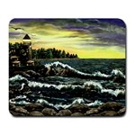 Cosgriff Point Lighthouse -AveHurley ArtRevu.com- Large Mousepad