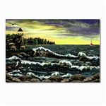 Cosgriff Point Lighthouse -AveHurley ArtRevu.com- Postcard 4 x 6  (Pkg of 10)