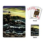 Cosgriff Point Lighthouse -AveHurley ArtRevu.com- Playing Cards Single Design