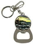 Cosgriff Point Lighthouse -AveHurley ArtRevu.com- Bottle Opener Key Chain
