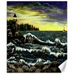 Cosgriff Point Lighthouse -AveHurley ArtRevu.com- Canvas 8  x 10