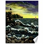 Cosgriff Point Lighthouse -AveHurley ArtRevu.com- Canvas 12  x 16