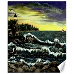 Cosgriff Point Lighthouse -AveHurley ArtRevu.com- Canvas 16  x 20