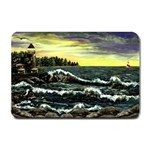 Cosgriff Point Lighthouse -AveHurley ArtRevu.com- Small Doormat