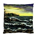 Cosgriff Point Lighthouse -AveHurley ArtRevu.com- Standard Cushion Case (Two Sides)