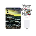 Cosgriff Point Lighthouse -AveHurley ArtRevu.com- Playing Cards 54 (Mini)