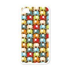 Elefunts! Apple Iphone 4 Case (white)