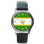 African_Union Round Metal Watch