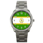 African_Union Sport Metal Watch