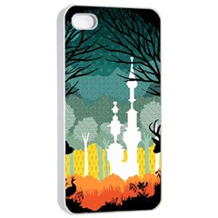 A Discovery In The Forest Apple Iphone 4/4s Seamless Case (white) by Contest1888822