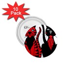 Cool Cats 1.75  Button (10 pack)