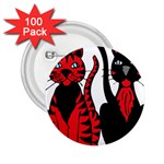Cool Cats 2.25  Button (100 pack)
