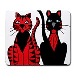 Cool Cats Large Mouse Pad (Rectangle)