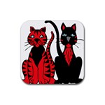 Cool Cats Drink Coaster (Square)