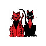 Cool Cats Magnet (Square)