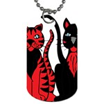 Cool Cats Dog Tag (One Sided)