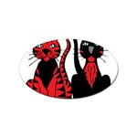 Cool Cats Sticker 100 Pack (Oval)