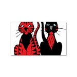 Cool Cats Sticker 100 Pack (Rectangle)