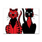 Cool Cats A4 Sticker 100 Pack