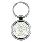 Pastel Bubbles Key Chain (Round)