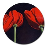 Tulips Round Mousepad